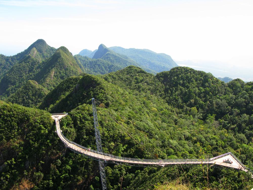 Langkawi hanging bridge malesia