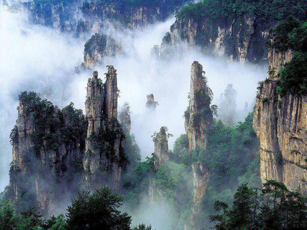 Le montagne sospese di Huangshan Cina