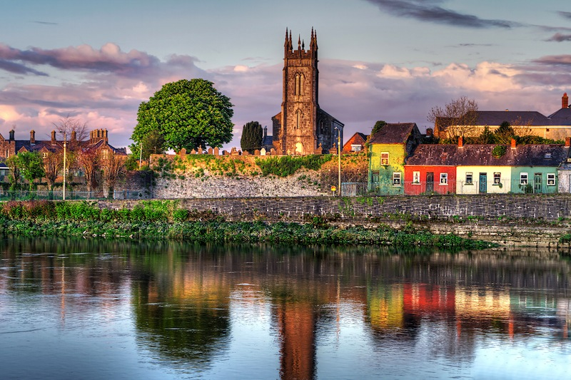 Limerick city Ireland