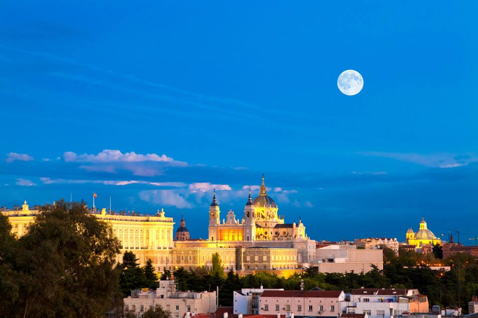 Madrid Almudena Cathedral and the Royal Palace