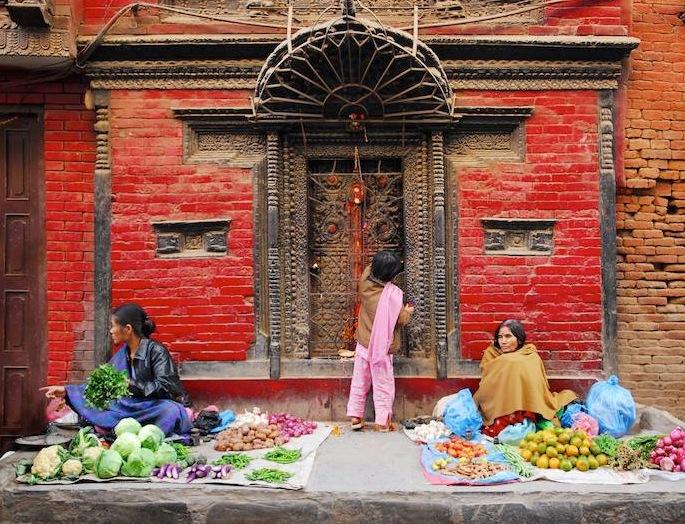 Market kathmandu Nepal6