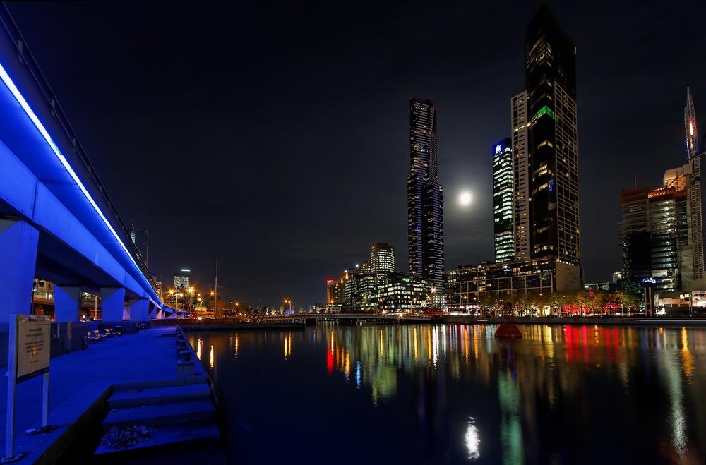 Melbourne Yarra river VIC Australia