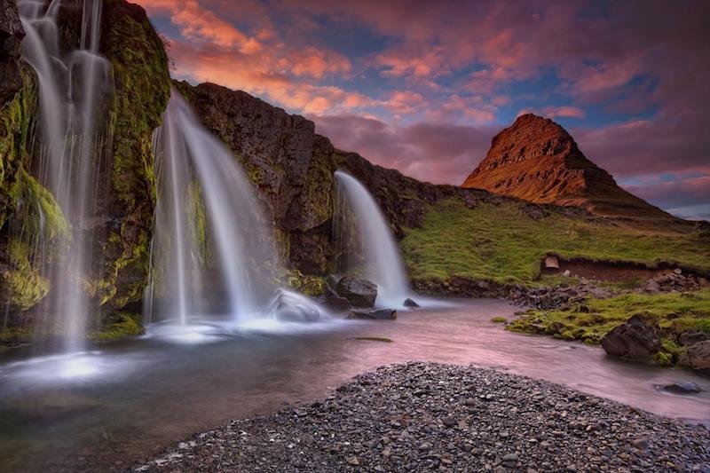 Monte Kirkjufell Islanda