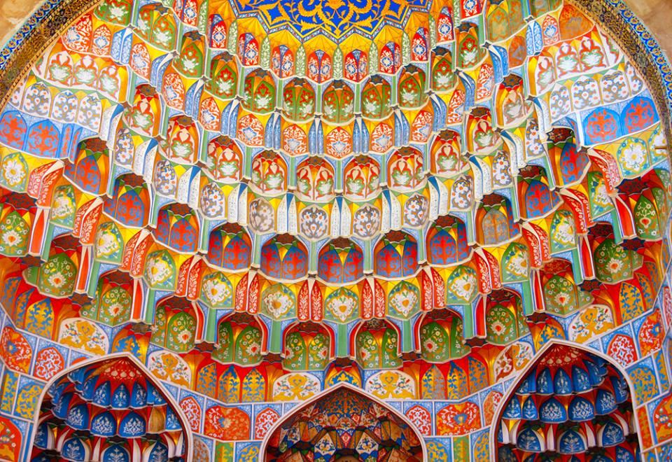 Mosque in Bukhara Uzbekistan