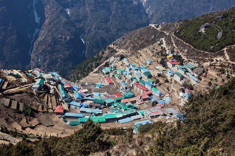 Namche Bazar Himalaya a 3