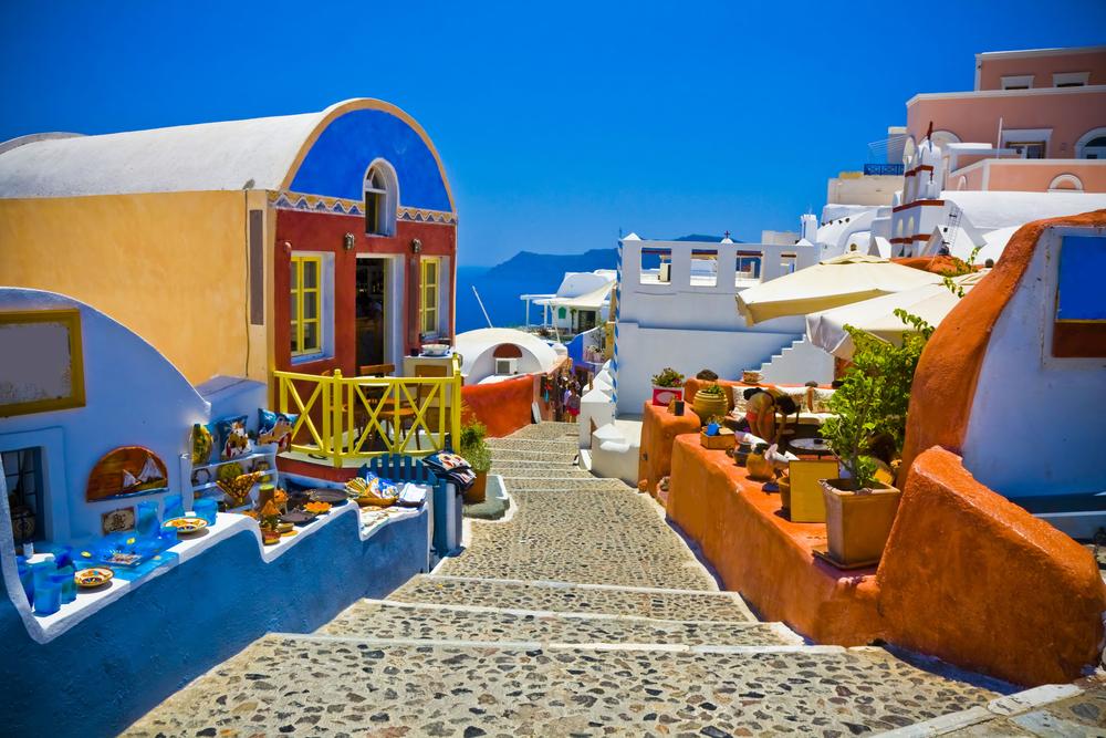 Oia city Santorini Greece