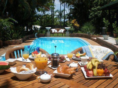 Palm Whispers Luxury Bed and Breakfast Cairns Australia