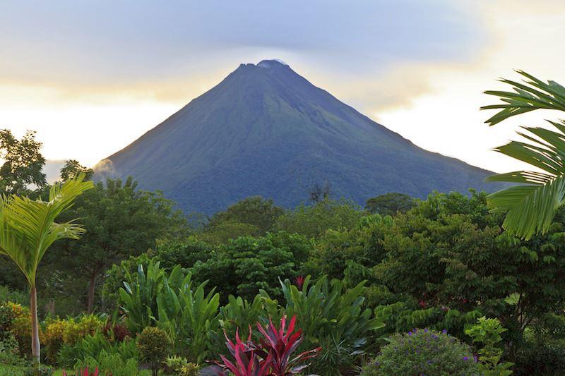 Parco Nazionale del vulcano Arenal Costa Rica