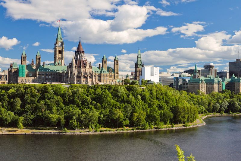 Parliament Hill Ottawa Ontario Canada