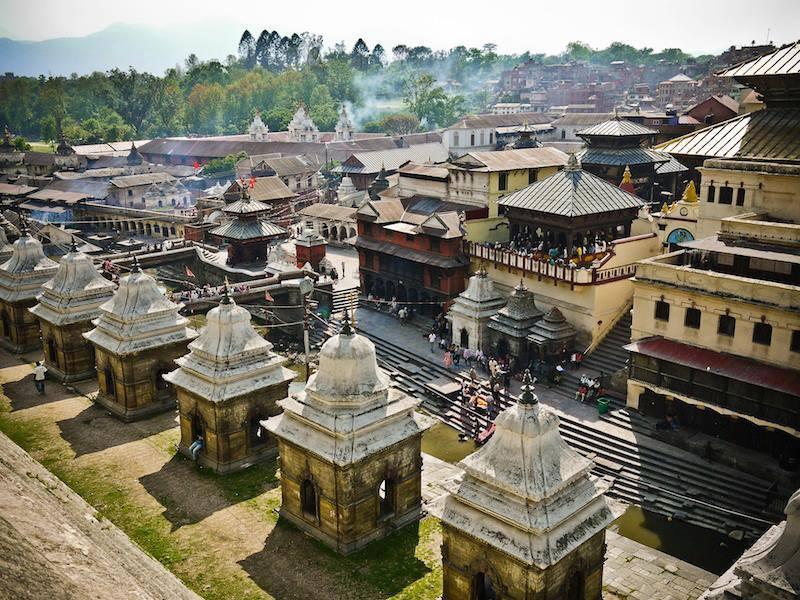 Pashupatinath98 Temple in Kathmandu Nepal