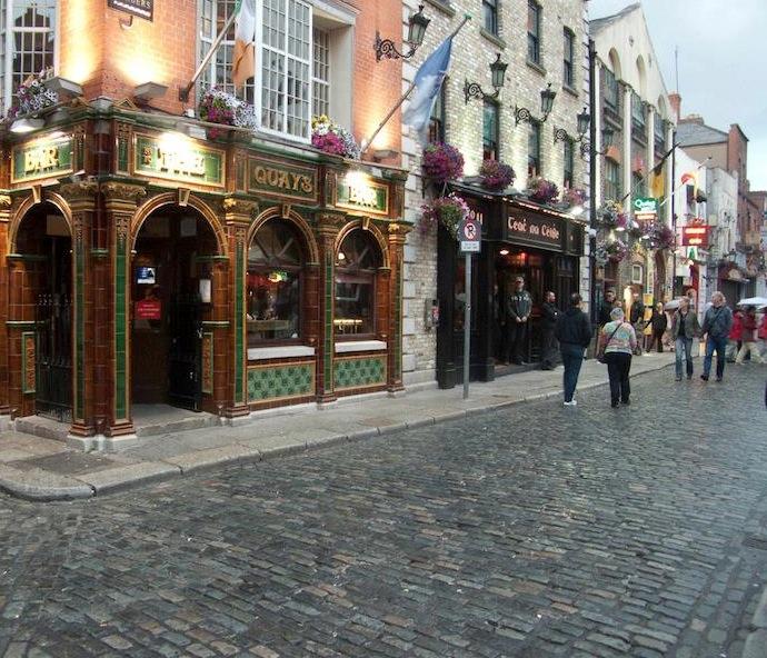 Passeggiando a Dublino