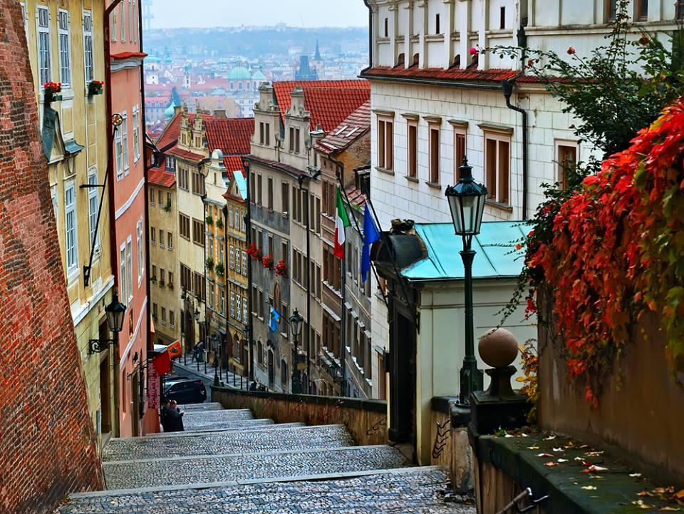 Passeggiando a Praga
