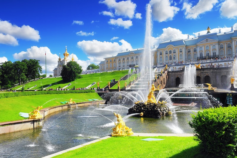 Pertergof Saint Petersburg Russia