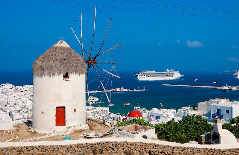 Pittoresca ed elegante Mikonos Grecia