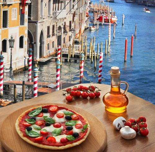 Pizza a Venezia per pranzo