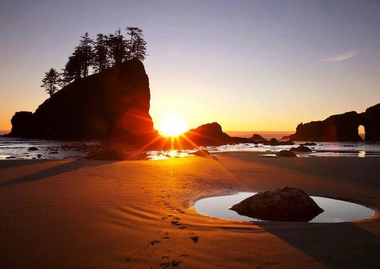 Point of Arches 9Olympic National Park Washington State