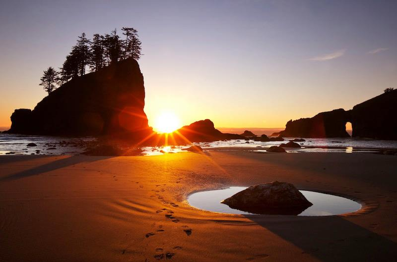 Point of Arches Olympic National Park Washington State