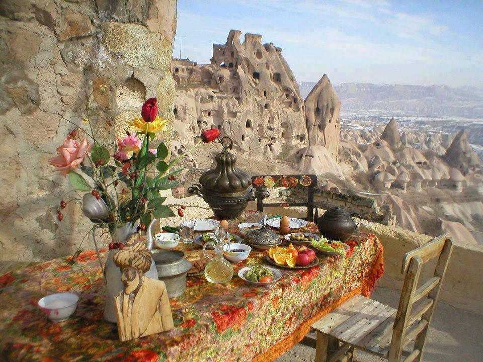 Pranziamo in Cappadocia