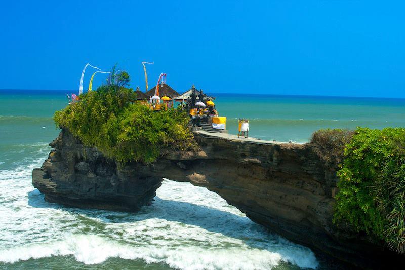 Prendiamo un caffè al Tanah Lot Bali Indonesia