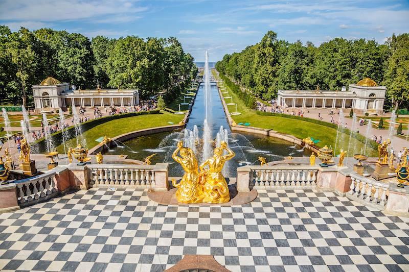 Reggia Peterhof Petrodvorec San Pietroburgo_n 1