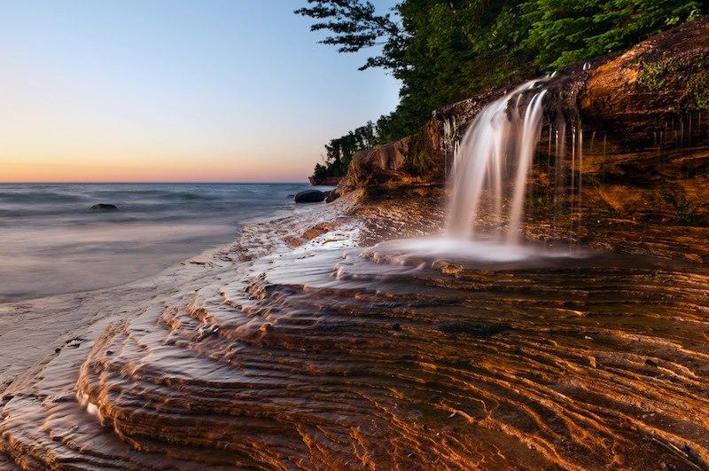 Rocks National Lakeshore Michigan U