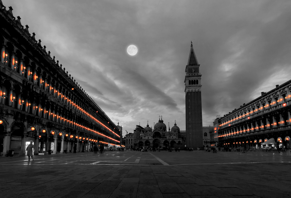 San Marco Plaza in Venice Italy