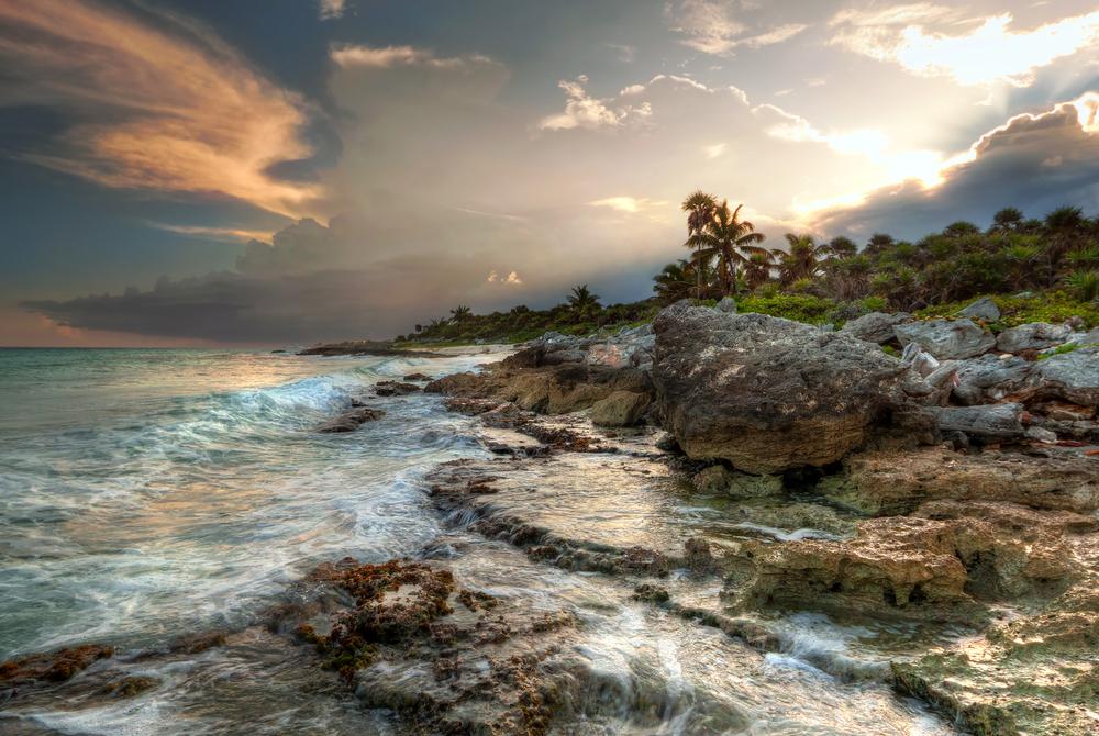 Sea in Mexico