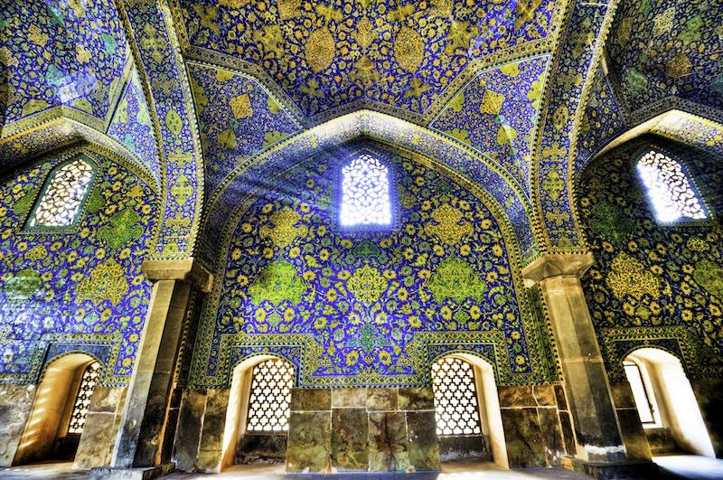 Shah Moshea Esfahan Iran