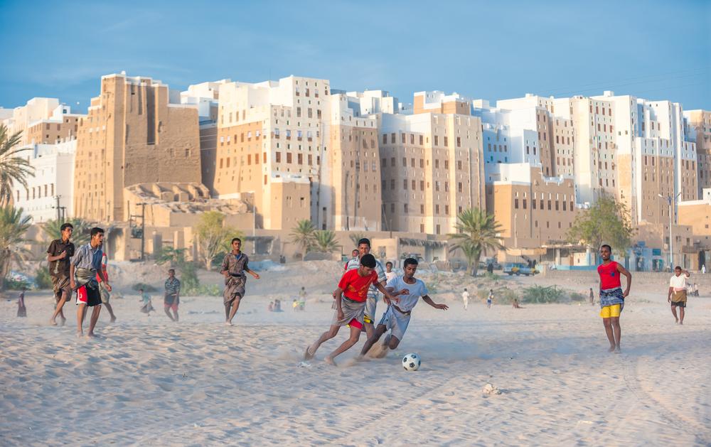 Shibam Hadramaut provence Yemen on February 21 2011