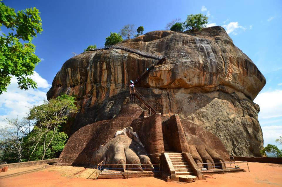 Sigiriya Lion Rock Fortress Sri Lanka