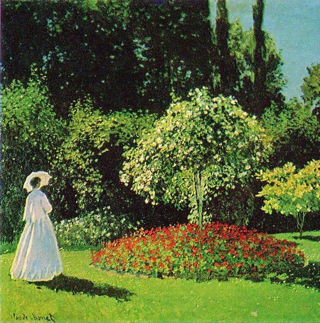Signora in giardino a Sainte Adresse Claude Monet Museo Ermitage