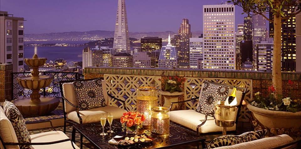 Stasera si cena a San Francisco Fairmont Hotel restaurant San Francisco