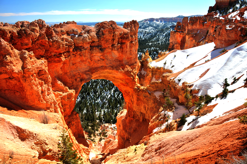 Stone BridgeArch at Bryce Canyon