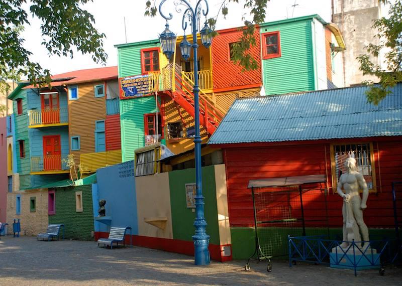 Street La Boca Buenos Aires