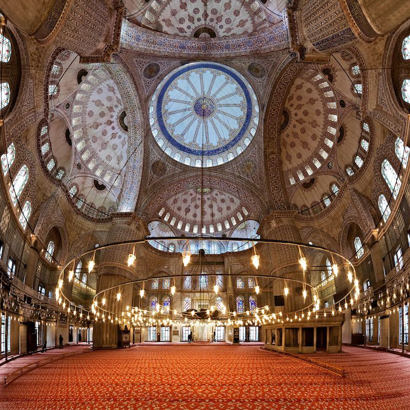 Sultan Ahmet Camii Moschea Blu Istanbul