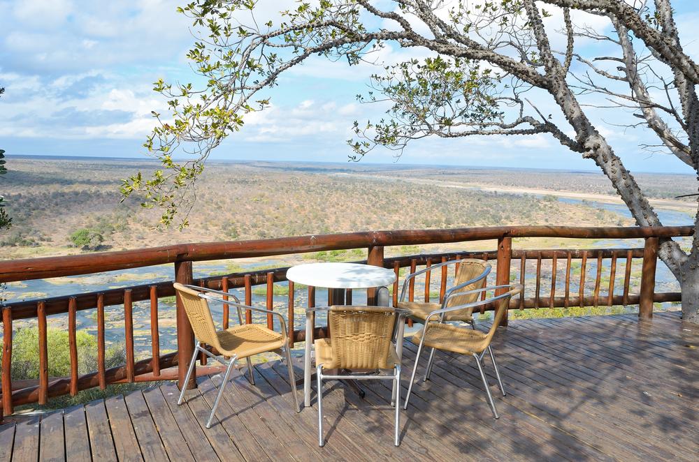 camping restaurant in Kruger national park safari in South Africa