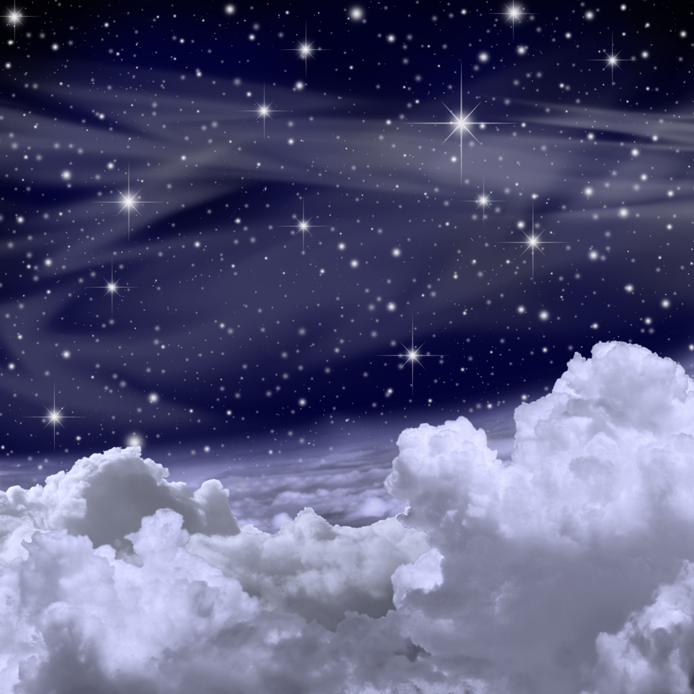 clouds and stars 1
