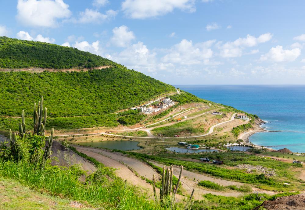 island of Sint Maarten St Martin