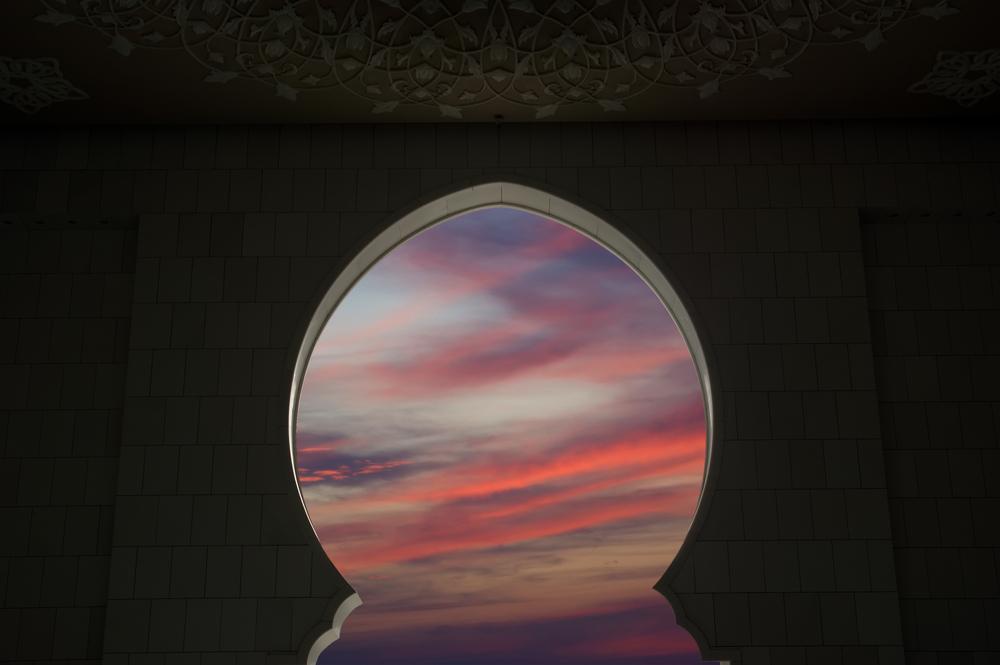 Abu Dhabi Sheikh Zayed White Mosquetramonto