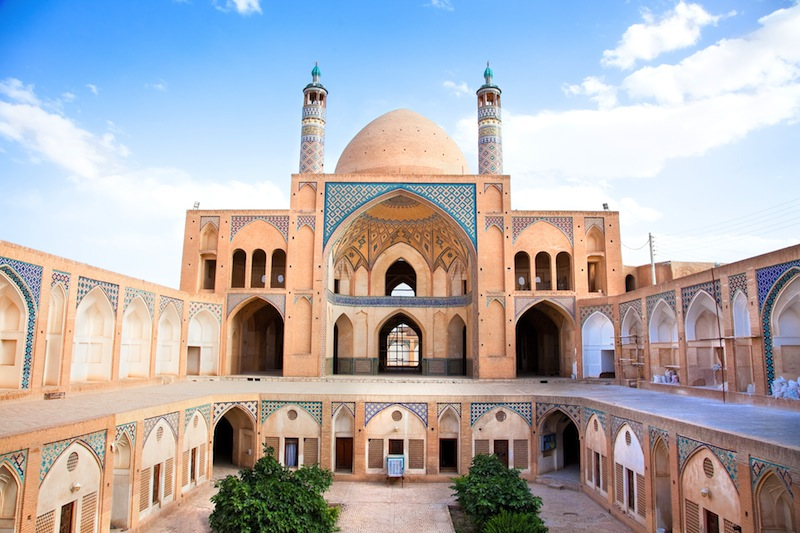 Agha Bozorg school and mosque in Kashan Iran 2
