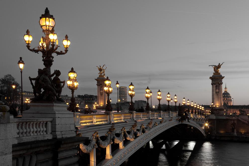 Alexander III bridge Paris France 0