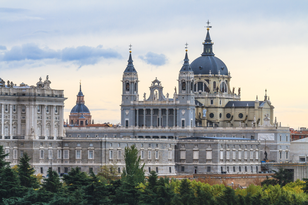 Almudena Cathedral Madrid Spain 1