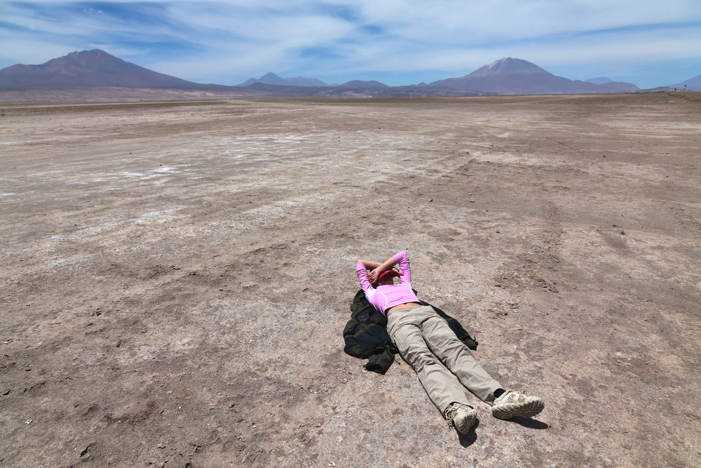 Altiplano 0plateau in Bolivia