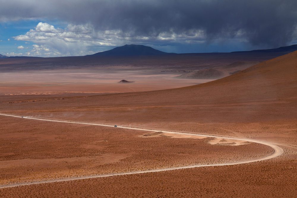 Altiplano plateau in Bolivia