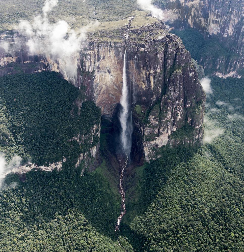 Angel Falls Salto Angel is worlds highest waterfalls 978 m Venezuela South America 7
