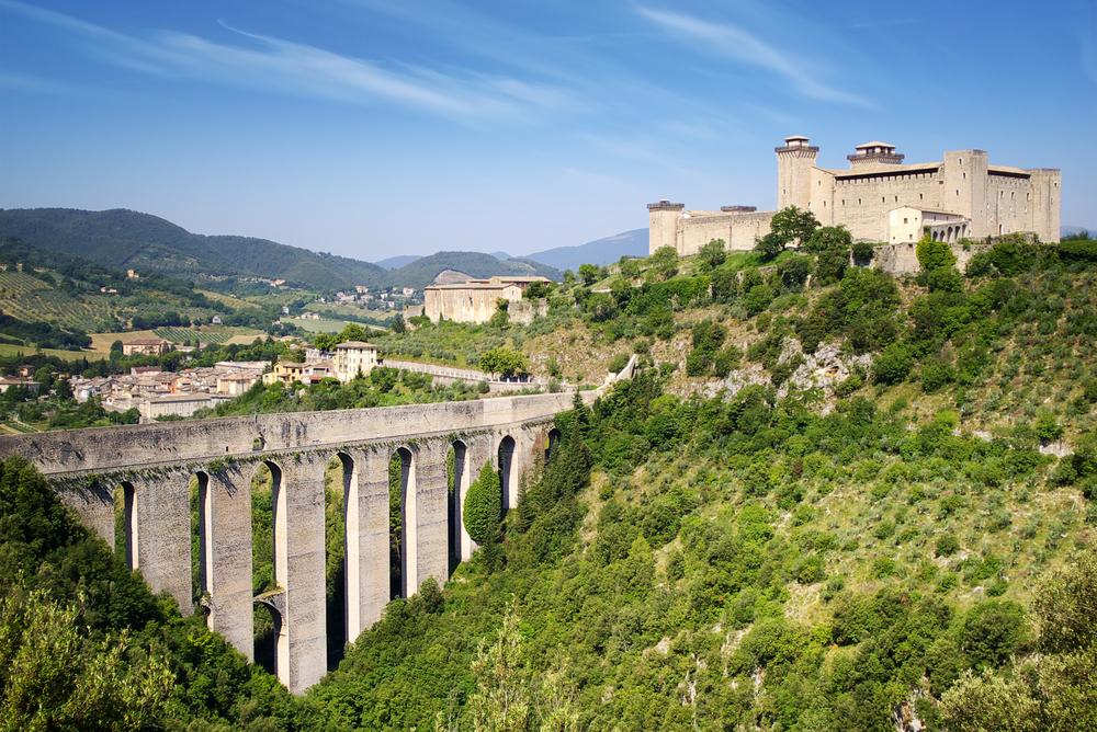 Aqueduct in Spoleto