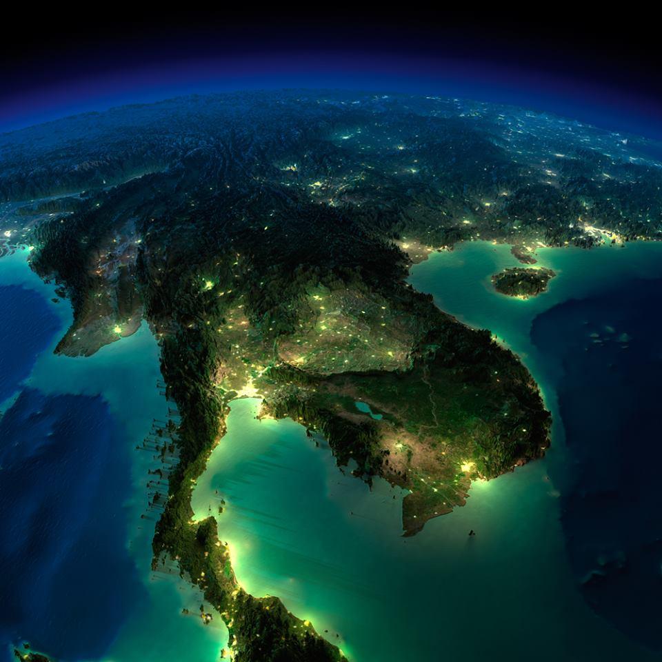 Asia Indochina Peninsula