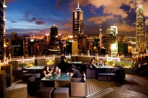 Azure club restaurant and bar in Lan Kwai Fong Hong Kong