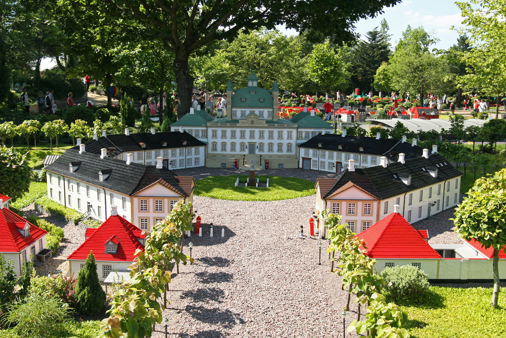 BILLUND AUGUST 6 Legoland in Billund Denmark on August 6 2006