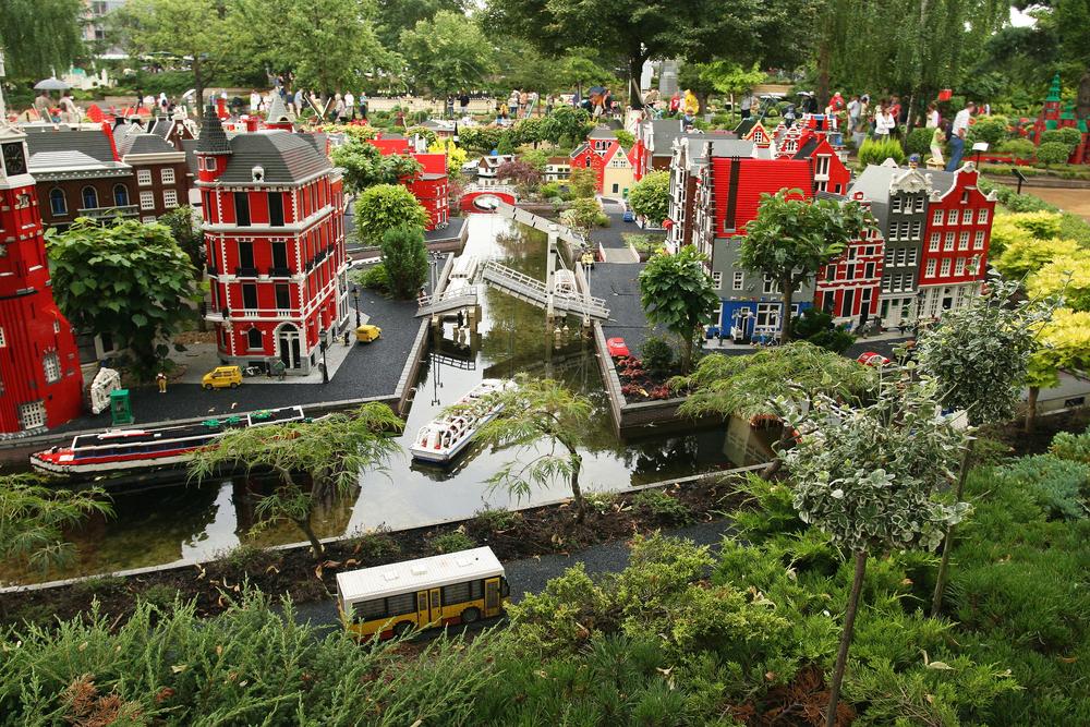 BILLUND AUGUST 7 Legoland in Billund Denmark on August 7 2006